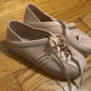 Mini Melissa Sneaker - Nude